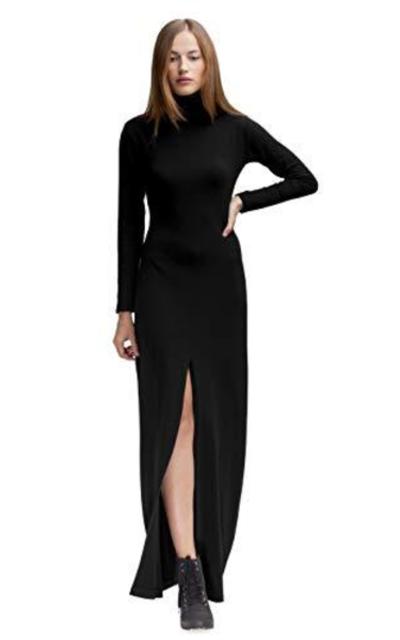 MDNT45 Turtleneck Maxi Dress