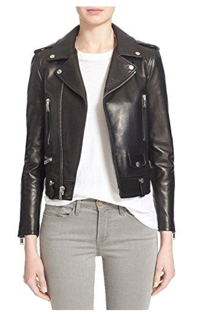 SID Lambskin Cubby Leather Jacket