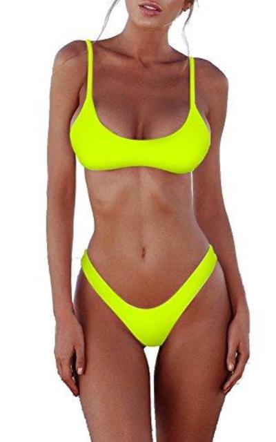 SherryDC Brazilian Thong Bikini Swimsuit