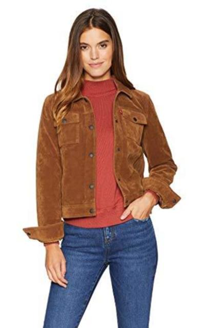Levi's Vintage Faux Suede Trucker Jacket