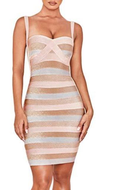 whoinshop Bandage Dress