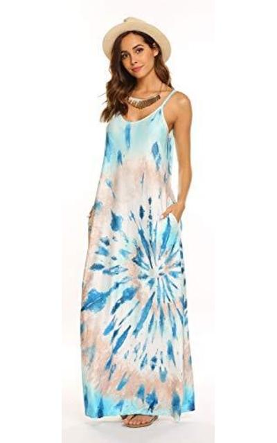 OURS Tie Dye Maxi Dress