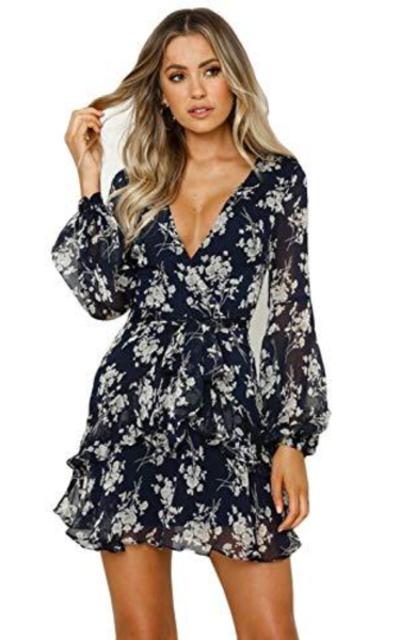 ROVLET Floral Dress