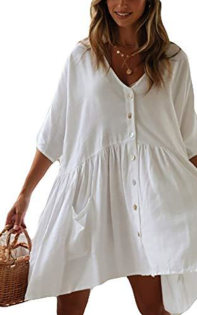 Bsubseach Shirt Tunic Dress