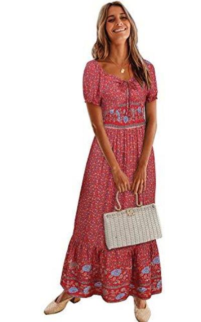 BIUBIU Bohemian Dress