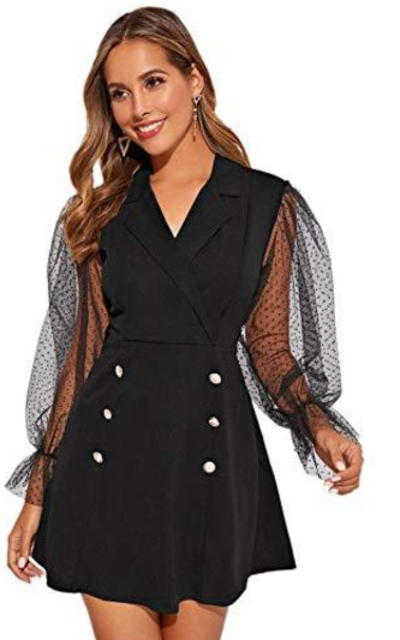 MAKEMECHIC Blazer Dress