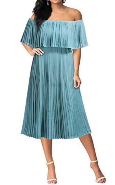 Mmondschein Vintage Off Shoulder Dress