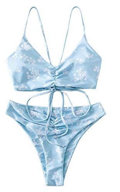 ZAFUL Floral Bikini Set