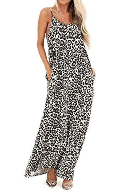 OURS Leopard Maxi Dress
