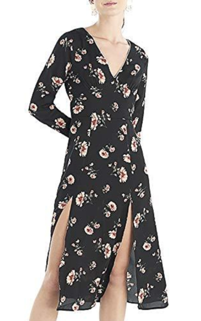 Our Heritage Printed Floral Dress