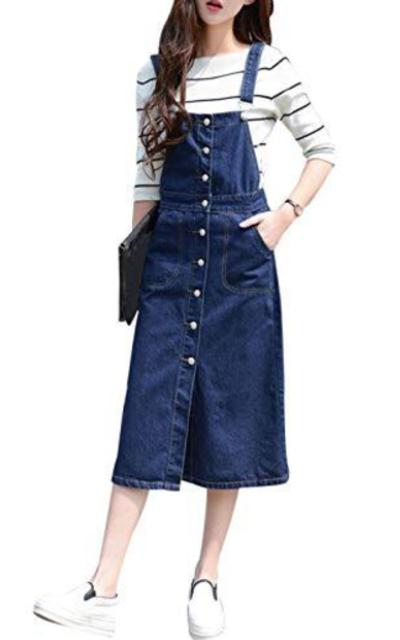 Yeokou Overall Dress