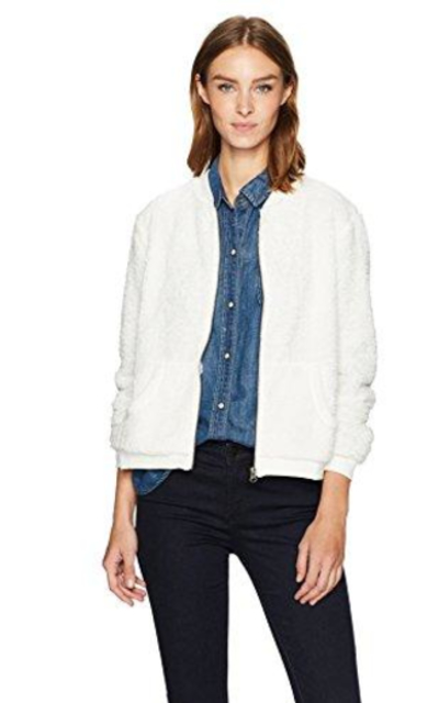 Noisy May Riley Soft Knit Bomber