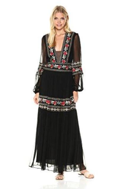 BCBGMax Azria Selene Embroidered Dress