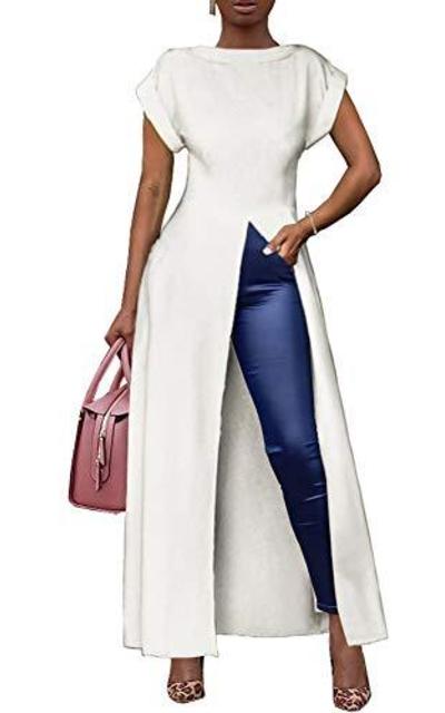 Ekaliy  Maxi Shirt Dress