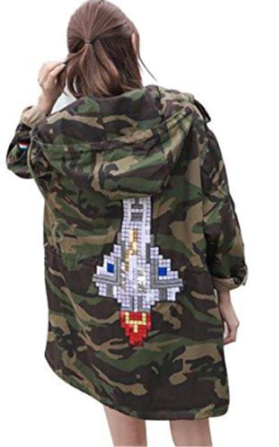 Camo Rocket Jacket