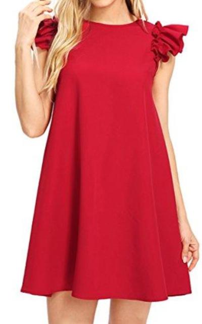 Romwe Ruffle Dress