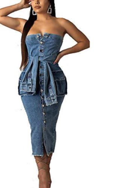 IyMoo Midi Dress