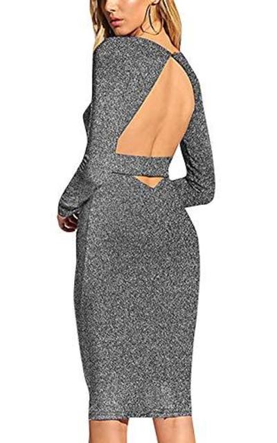 HOOYON Backless Dress