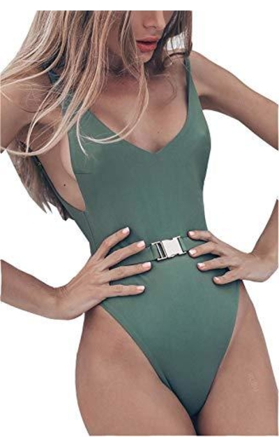 FEIYOUNG Swimsuit with Belt