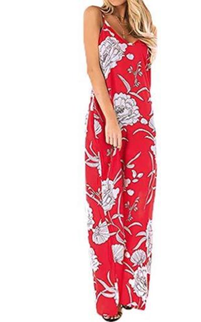 Poetsky Boho Maxi Dress