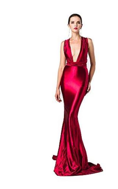 Miss ord V Neck Sleeveless Halter Dress