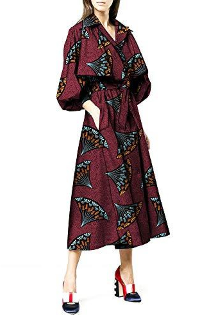Private African Print Dress