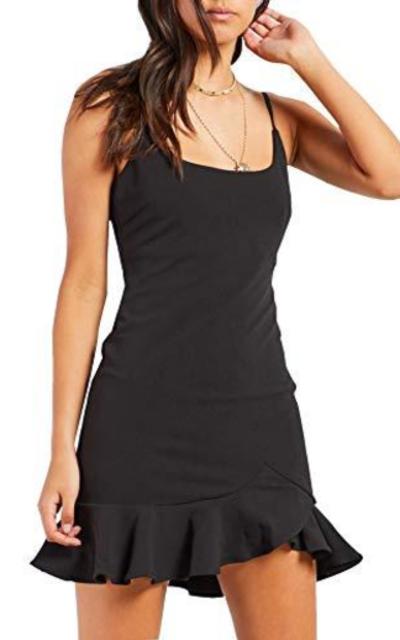Relipop Ruffle Hem Mini Dress