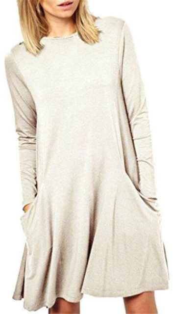 Simple Swing Tunic Swing Dress