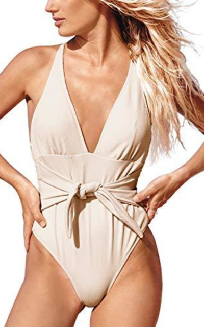 CUPSHE Tender Love One Piece Swimsuit