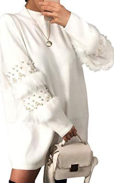 D Jill  Sweater Mini Dress