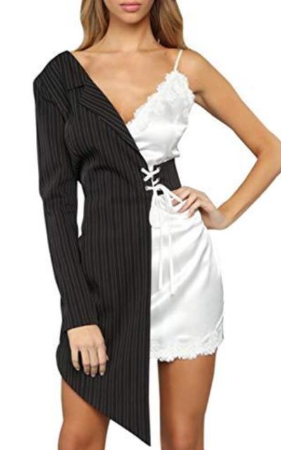D Jill Satin Blazer Dress