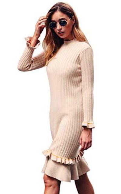 D Jill Knitted Sweater Dress