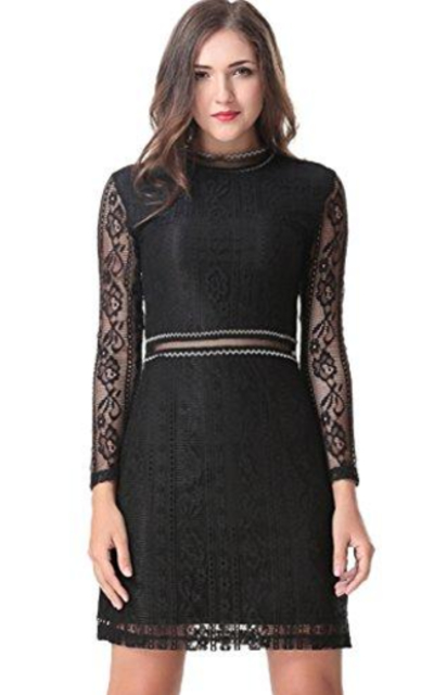 Aphratti Lace Mini Dress