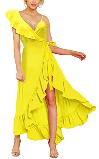 Cosics Ruffle Maxi Dress