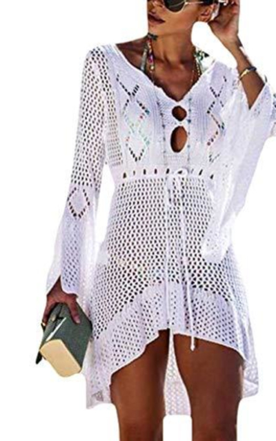 FaroDor Flare Crochet Cover Up