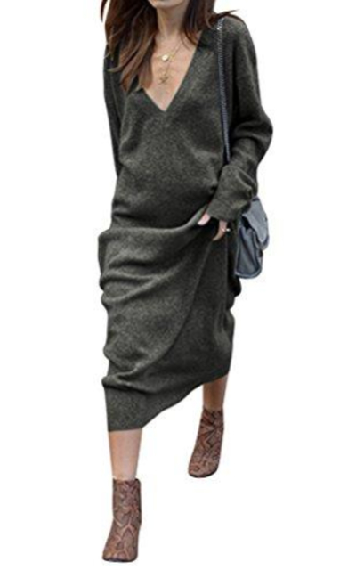WLLW Sweater Maxi Dress
