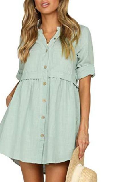 Glamaker Mini Tunic Dress