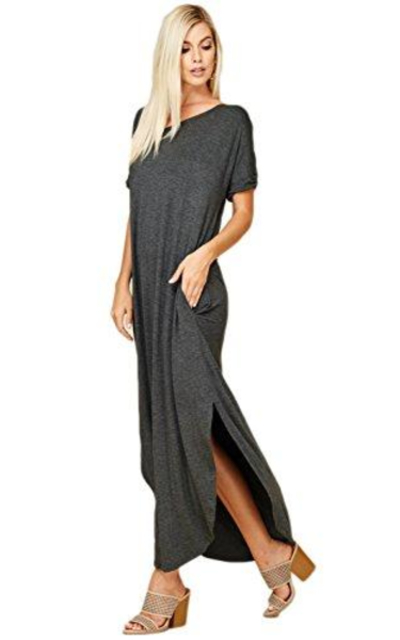 Annabelle Tshirt Maxi Dress