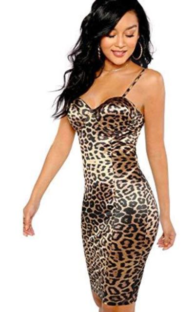 SheIn  Bustier Cami Bodycon Dress