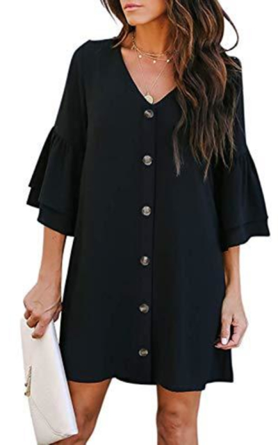 Acelitt Button Down Dress