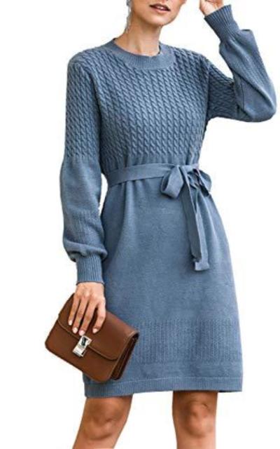 Zandiceno Knit Sweater Dress
