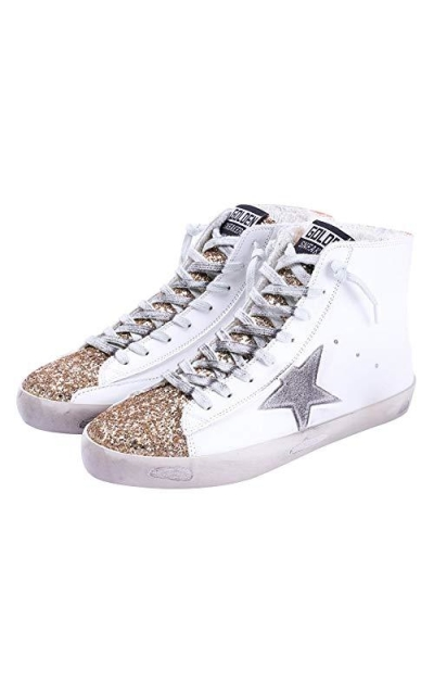 FENIKUSU Glitter Star High Top Sneakers