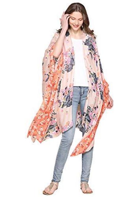 Moss Rose Kimono Cardigan