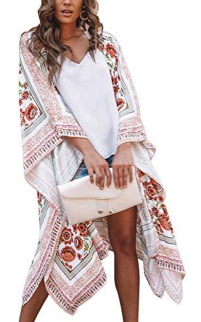 Zexxxy Kimono Coverup
