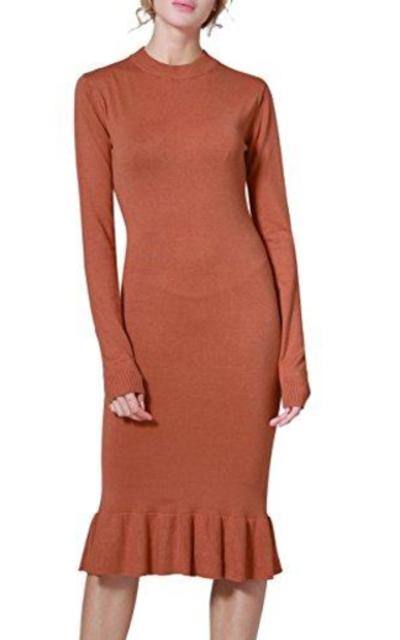 Rocorose Knit Dress