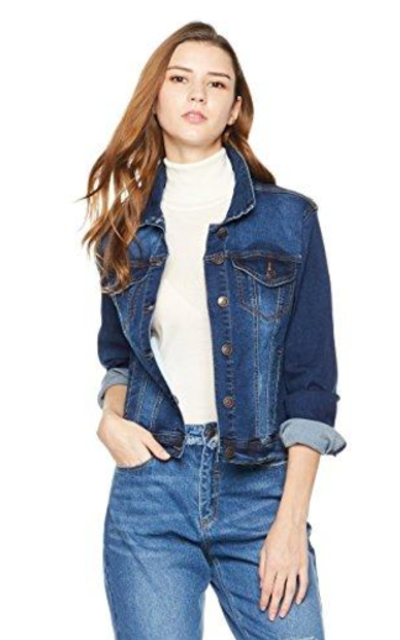 Lily Parker Stretch Denim Jean Jacket