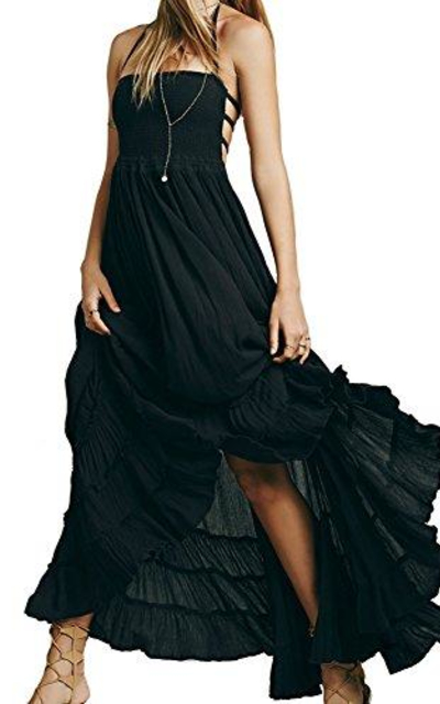 VERGOODR  Backless Maxi Dress