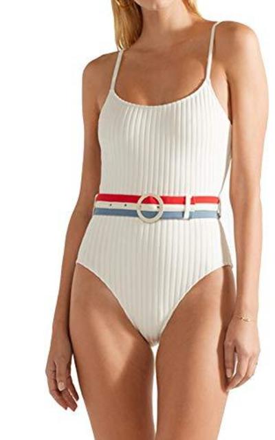Stripe Swimwear  One Piece