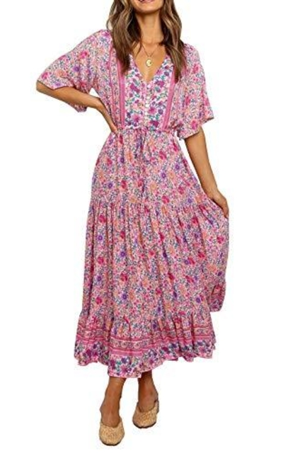 R.Vivimos Summer Floral Dress