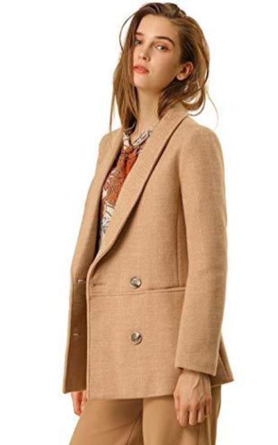 Allegra K Blazer Pea Coat